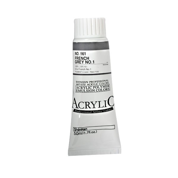 Акрилни бои ARTISTS' ACRYLIC Акрилна боя ARTISTS' ACRYLIC, 50 ml, French Grey No.1