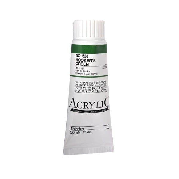 Акрилни бои ARTISTS' ACRYLIC Акрилна боя ARTISTS' ACRYLIC, 50 ml, Hooker's Green