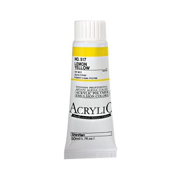 Акрилни бои ARTISTS' ACRYLIC Акрилна боя ARTISTS' ACRYLIC, 50 ml, Lemon Yellow