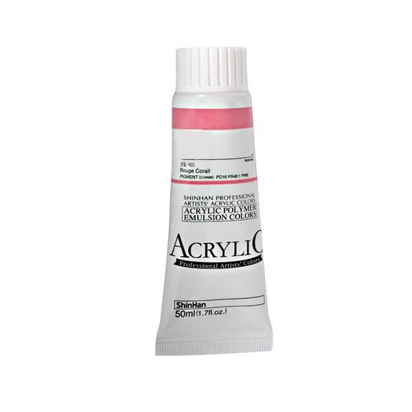 Акрилни бои ARTISTS' ACRYLIC Акрилна боя ARTISTS' ACRYLIC, 50 ml, Medium Magenta