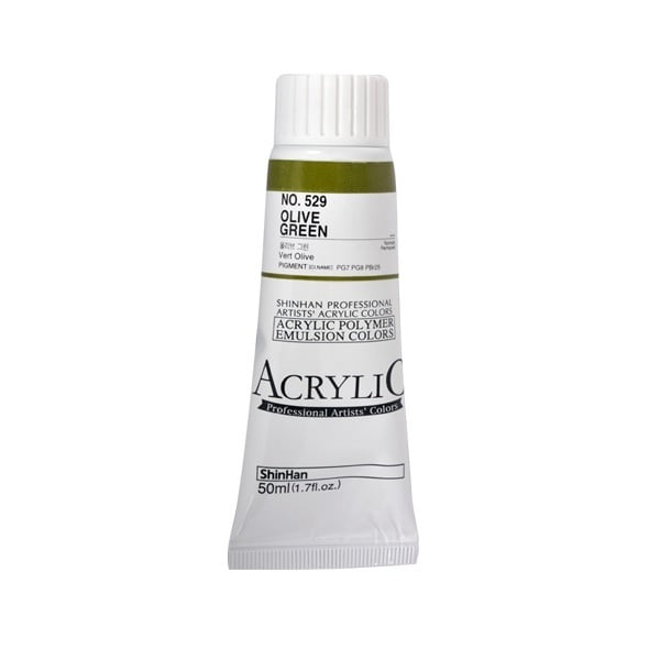 Акрилни бои ARTISTS' ACRYLIC Акрилна боя ARTISTS' ACRYLIC, 50 ml, Olive Green