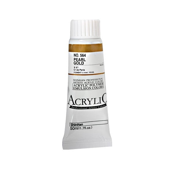Акрилни бои ARTISTS' ACRYLIC Акрилна боя ARTISTS' ACRYLIC, 50 ml, Pearl Gold