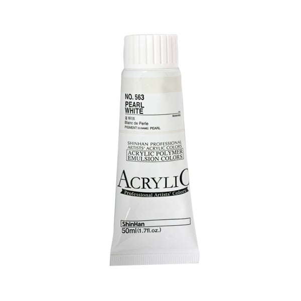 Акрилни бои ARTISTS' ACRYLIC Акрилна боя ARTISTS' ACRYLIC, 50 ml, Pearl White
