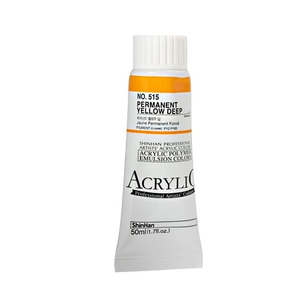 Акрилни бои ARTISTS' ACRYLIC Акрилна боя ARTISTS' ACRYLIC, 50 ml, Permament Yellow Deep
