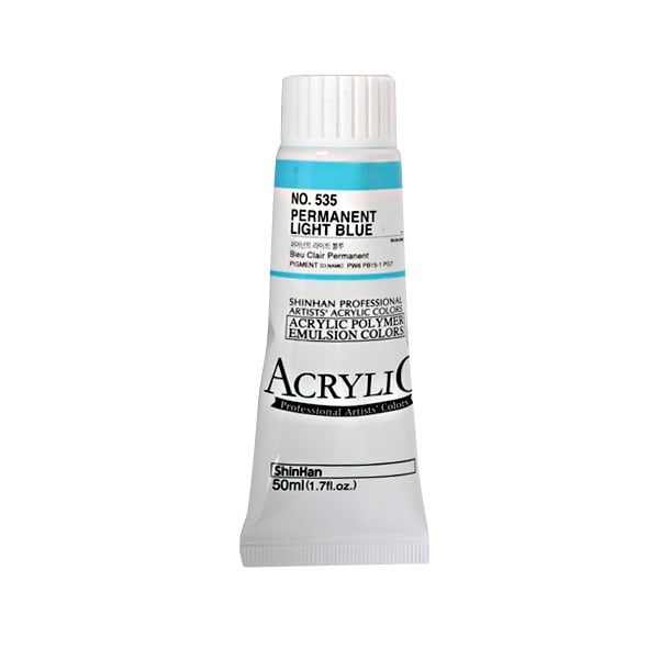 Акрилни бои ARTISTS' ACRYLIC Акрилна боя ARTISTS' ACRYLIC, 50 ml, Permanent Light Blue