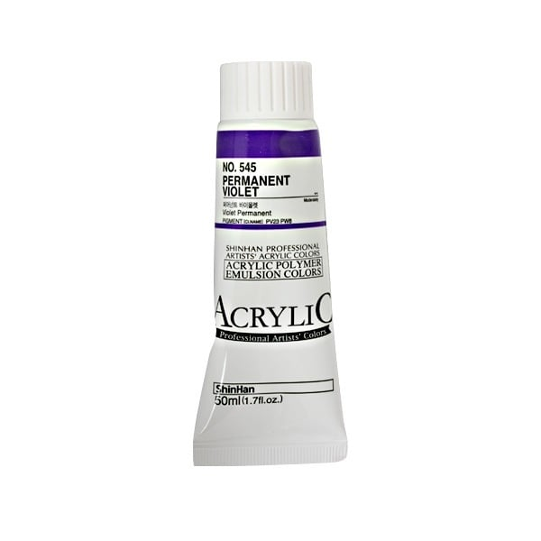 Акрилни бои ARTISTS' ACRYLIC Акрилна боя ARTISTS' ACRYLIC, 50 ml, Permanent Violet