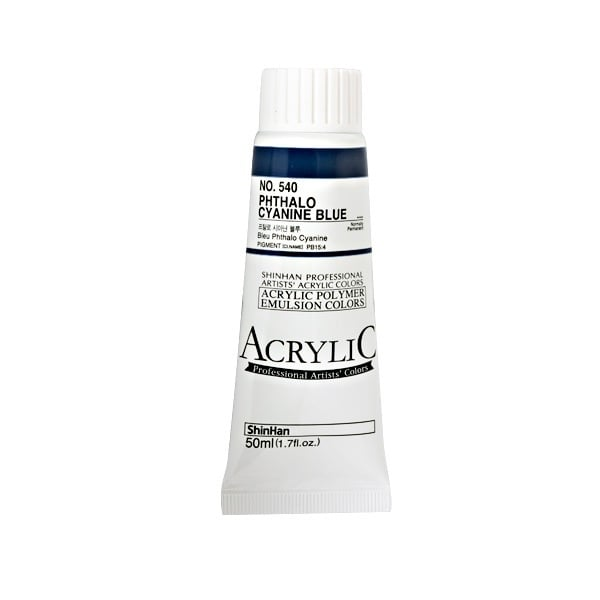Акрилни бои ARTISTS' ACRYLIC Акрилна боя ARTISTS' ACRYLIC, 50 ml, Phthalo Cyanine Blue