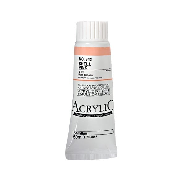 Акрилни бои ARTISTS' ACRYLIC Акрилна боя ARTISTS' ACRYLIC, 50 ml, Shell Pink