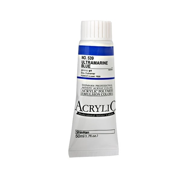 Акрилни бои ARTISTS' ACRYLIC Акрилна боя ARTISTS' ACRYLIC, 50 ml, Ultramarine Blue