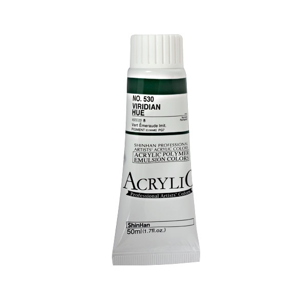 Акрилни бои ARTISTS' ACRYLIC Акрилна боя ARTISTS' ACRYLIC, 50 ml, Viridian Hue