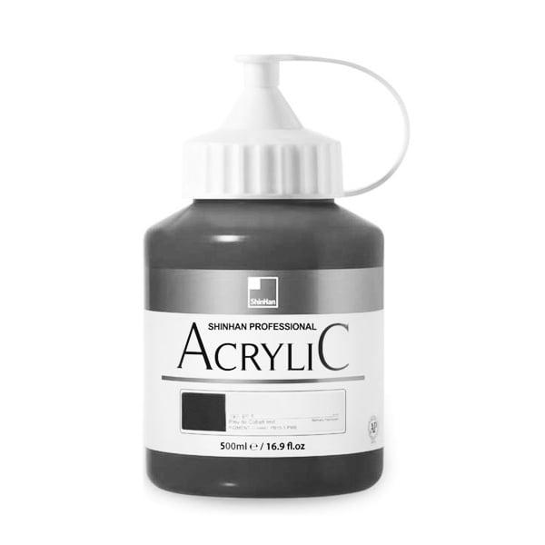 Акрилни бои ARTISTS' ACRYLIC Акрилна боя ARTISTS' ACRYLIC, 500 ml, Black