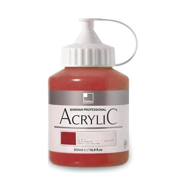 Акрилни бои ARTISTS' ACRYLIC Акрилна боя ARTISTS' ACRYLIC, 500 ml, Brown Red