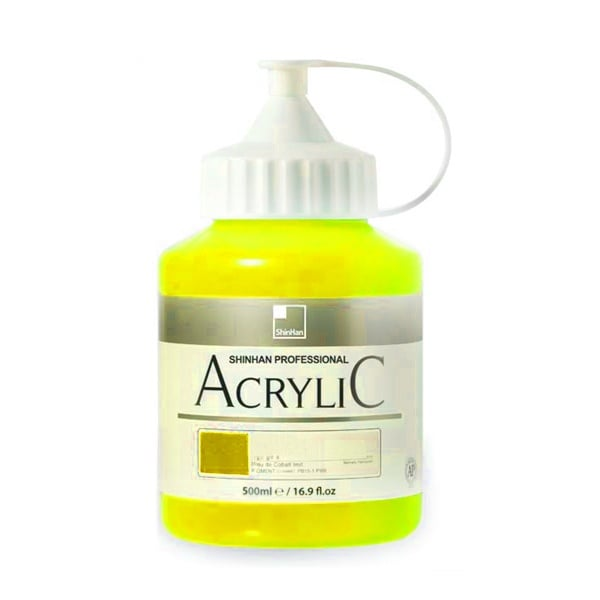 Акрилни бои ARTISTS' ACRYLIC Акрилна боя ARTISTS' ACRYLIC, 500 ml, Cadmium yellow