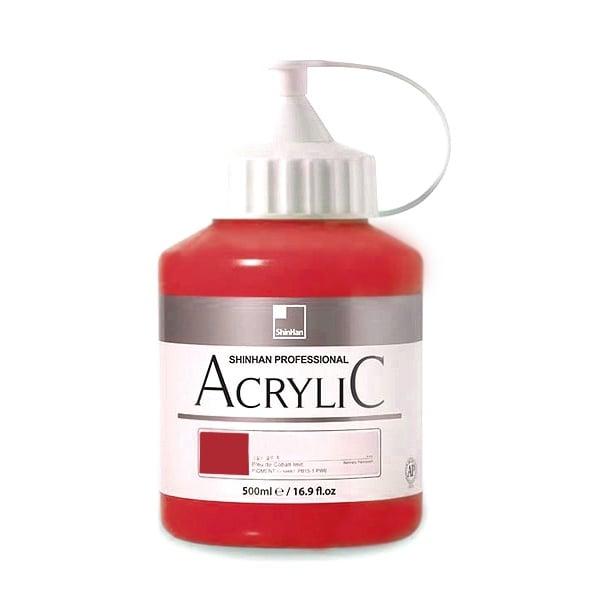 Акрилни бои ARTISTS' ACRYLIC Акрилна боя ARTISTS' ACRYLIC, 500 ml, Carmine