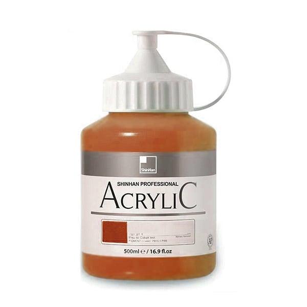 Акрилни бои ARTISTS' ACRYLIC Акрилна боя ARTISTS' ACRYLIC, 500 ml, Copper