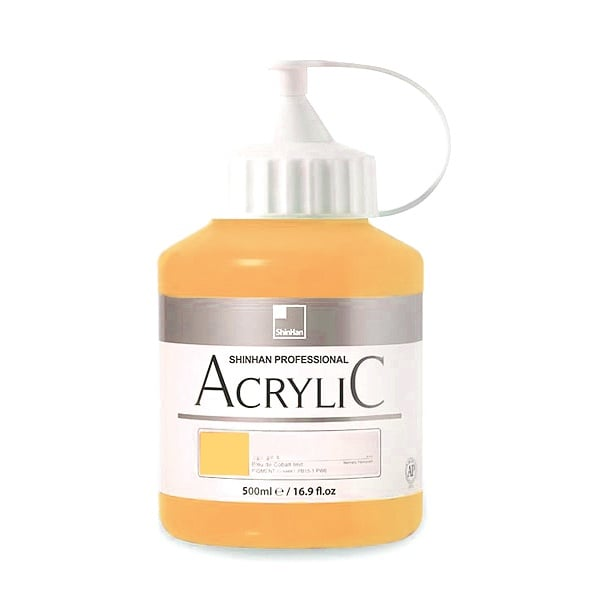 Акрилни бои ARTISTS' ACRYLIC Акрилна боя ARTISTS' ACRYLIC, 500 ml, Jaune Brilliant