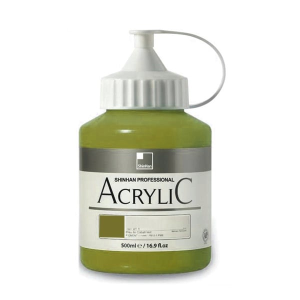 Акрилни бои ARTISTS' ACRYLIC Акрилна боя ARTISTS' ACRYLIC, 500 ml, Olive Green