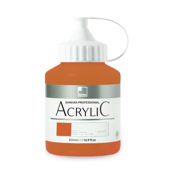 Акрилни бои ARTISTS' ACRYLIC Акрилна боя ARTISTS' ACRYLIC, 500 ml, Raw Sienna