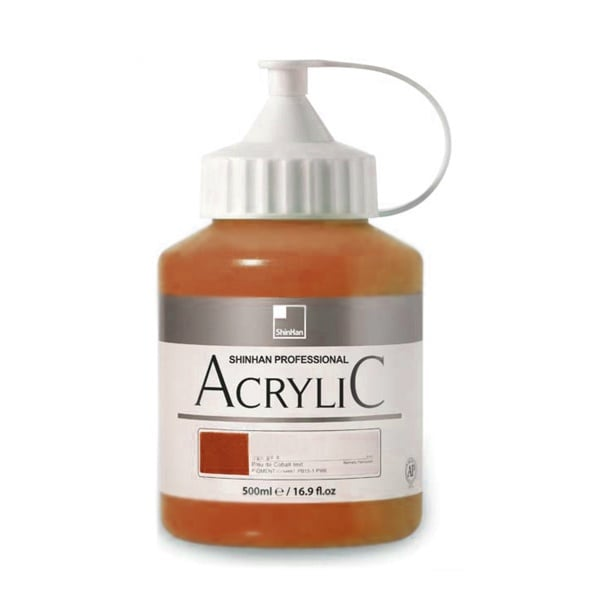 Акрилни бои ARTISTS' ACRYLIC Акрилна боя ARTISTS' ACRYLIC, 500 ml, Raw Umber