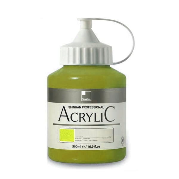 Акрилни бои ARTISTS' ACRYLIC Акрилна боя ARTISTS' ACRYLIC, 500 ml, Sap Green