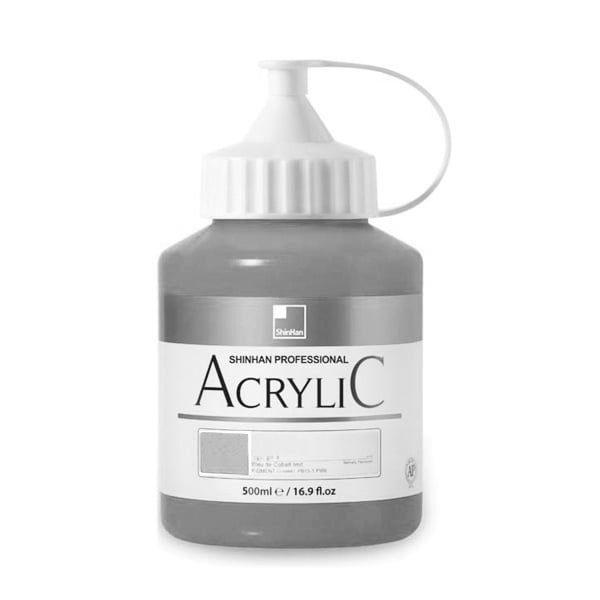 Акрилни бои ARTISTS' ACRYLIC Акрилна боя ARTISTS' ACRYLIC, 500 ml, Silver