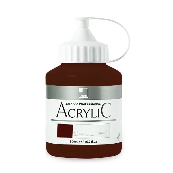 Акрилни бои ARTISTS' ACRYLIC Акрилна боя ARTISTS' ACRYLIC, 500 ml, Vandyke Brown