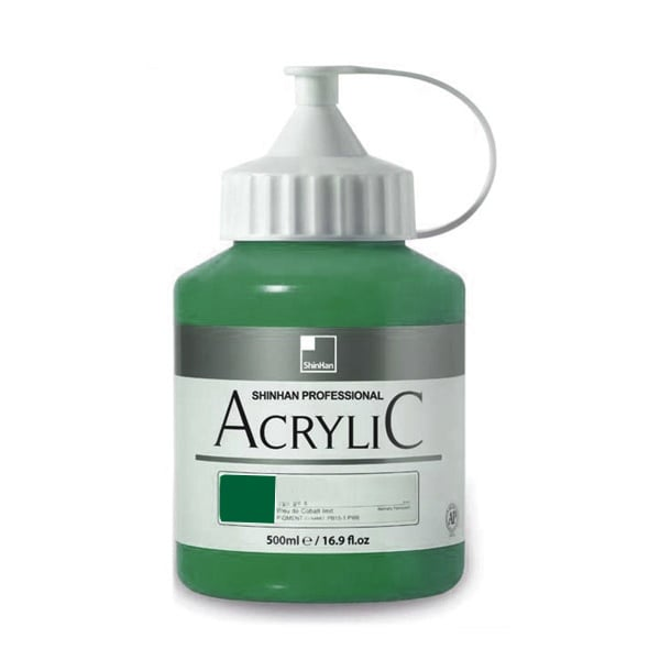 Акрилни бои ARTISTS' ACRYLIC Акрилна боя ARTISTS' ACRYLIC, 500 ml, Viridian Hue