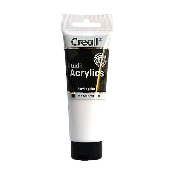 Акрилна боя CREALL-STUDIO-ACRYLICS, 120 ml Акрилна боя CREALL-STUDIO-ACRYLICS, 120 ml, бяла