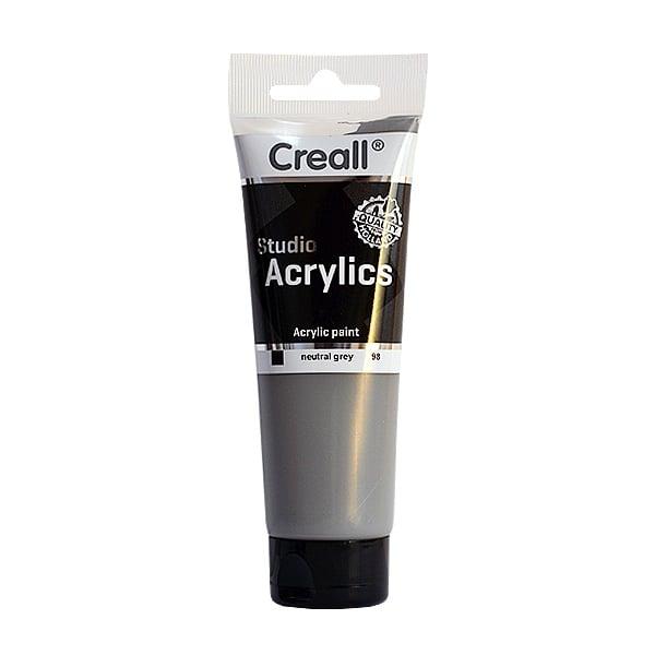 Акрилна боя CREALL-STUDIO-ACRYLICS, 120 ml Акрилна боя CREALL-STUDIO-ACRYLICS, 120 ml, сива