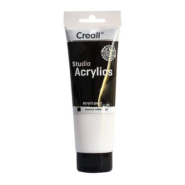 Акрилна боя CREALL-STUDIO-ACRYLICS, 250 ml Акрилна боя CREALL-STUDIO-ACRYLICS, 250 ml, бяла