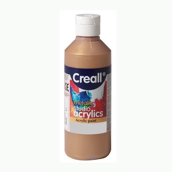 Акрилни металик бои CREALL STUDIO, 120 / 240 ml Акрилна металик боя CREALL STUDIO, 250 ml, бронзова