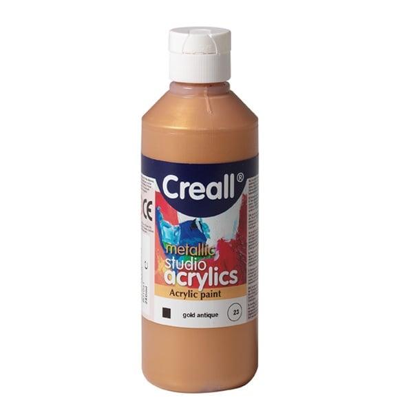 Акрилни металик бои CREALL STUDIO, 120 / 240 ml Акрилна металик боя CREALL STUDIO, 250 ml, златна
