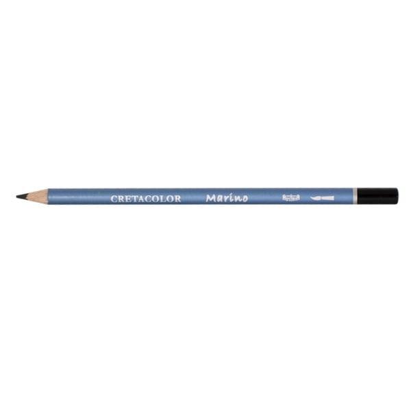 Акварелни моливи CretaColor, MARINO Акварелен молив CretaColor, MARINO, 1бр., Ivory Black