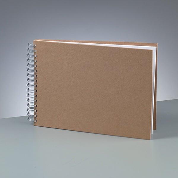 Албум за скрапбукинг Албум за скрапбукинг, A 4, 30 × 21,5 cm, 25 стр., 190 g/m², кафяв