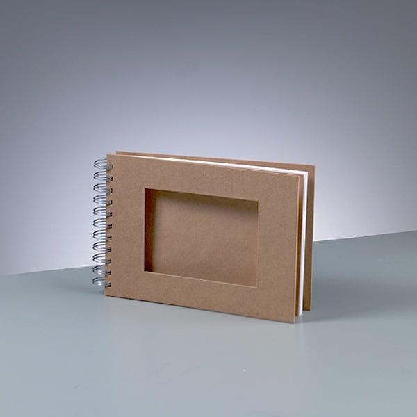 Албум за скрапбукинг Албум за скрапбукинг, A 5, 21 х 15/ 9 х 13 cm, 25 стр., 190 g/m²