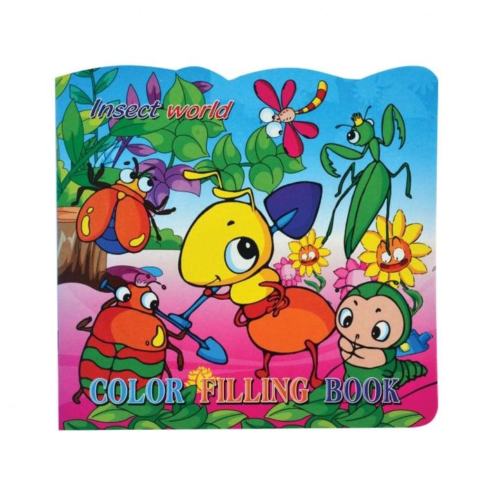 Книжка за оцветяване + стикери