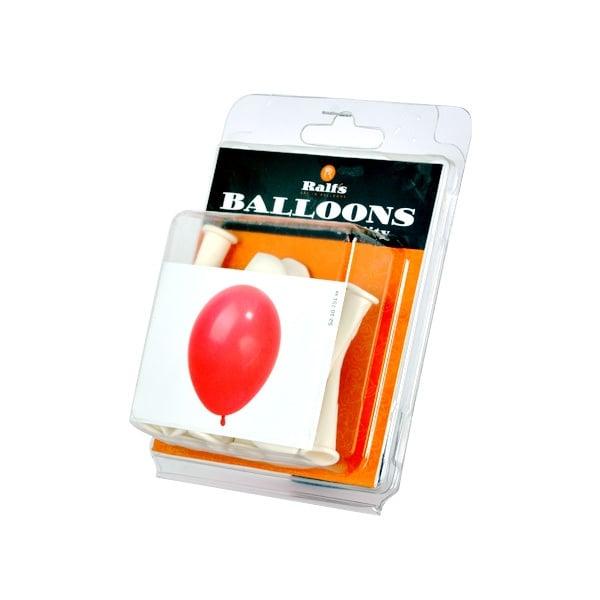 Балони кръгли, 10 бр. Балони кръгли, ф 12,5 cm, 10 бр., бял
