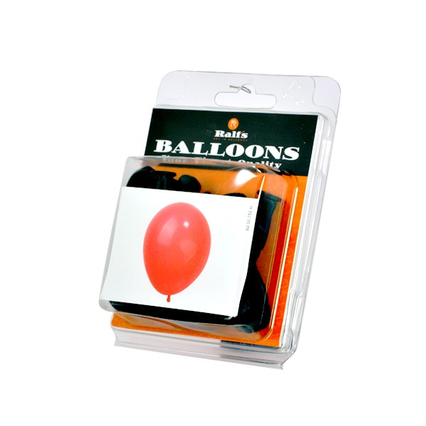 Балони кръгли, 10 бр. Балони кръгли, ф 12,5 cm, 10 бр., черен