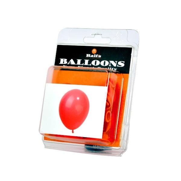 Балони кръгли, 10 бр. Балони кръгли, ф 12,5 cm, 10 бр., червен