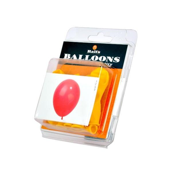 Балони кръгли, 10 бр. Балони кръгли, ф 12,5 cm, 10 бр., жълт