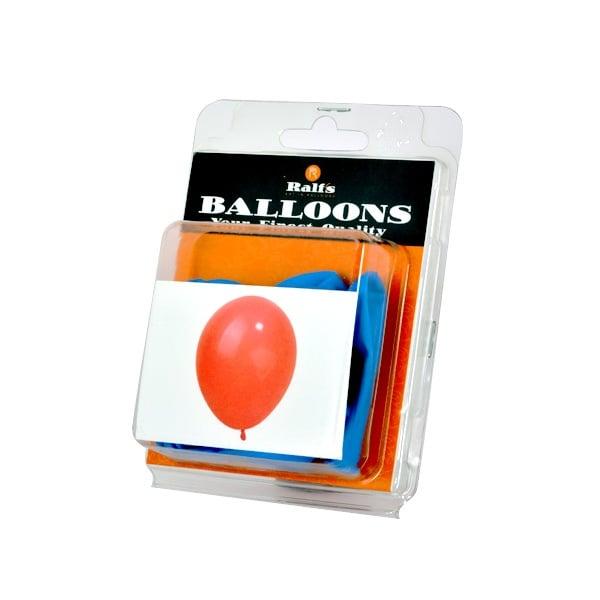 Балони кръгли, 10 бр. Балони кръгли, ф 12,5 cm, 10 бр., син