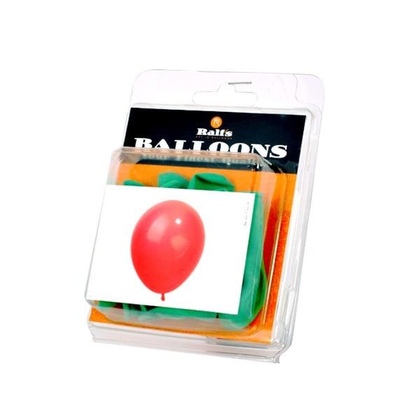 Балони кръгли, 10 бр. Балони кръгли, ф 12,5 cm, 10 бр., зелен