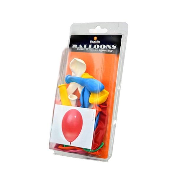 Балони кръгли, 10 бр. Балони кръгли, ф 12,5 cm, 20 бр., различни цветове