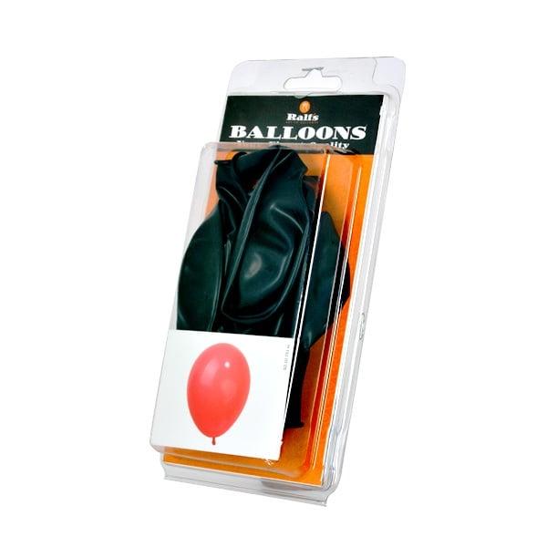 Балони кръгли, 10 бр. Балони кръгли, ф 30 cm, 10 бр., черен