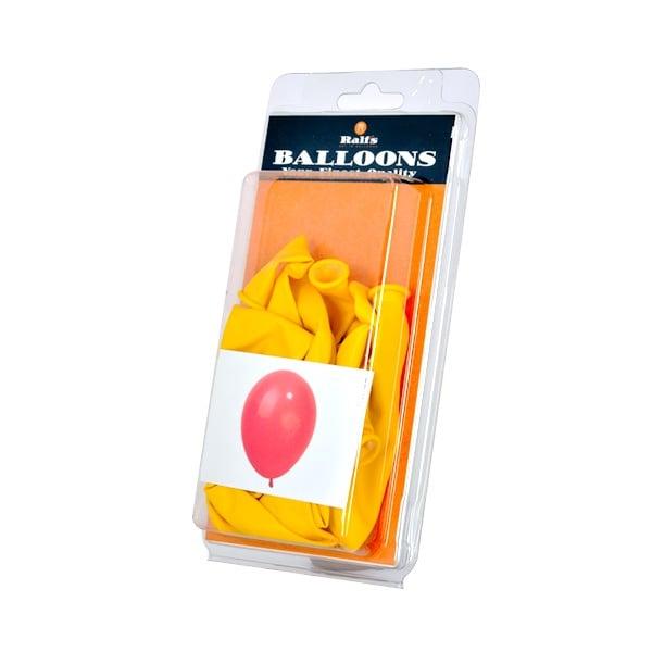Балони кръгли, 10 бр. Балони кръгли, ф 30 cm, 10 бр., жълт