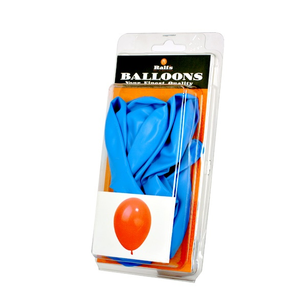 Балони кръгли, 10 бр. Балони кръгли, ф 30 cm, 10 бр., син