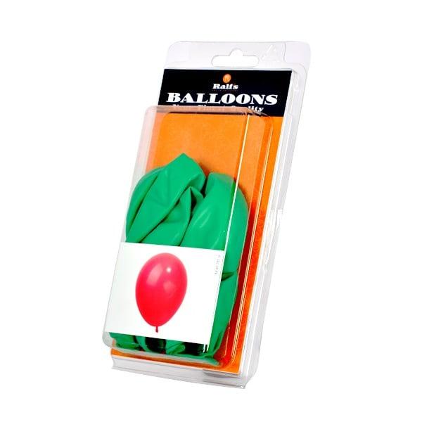 Балони кръгли, 10 бр. Балони кръгли, ф 30 cm, 10 бр., зелен
