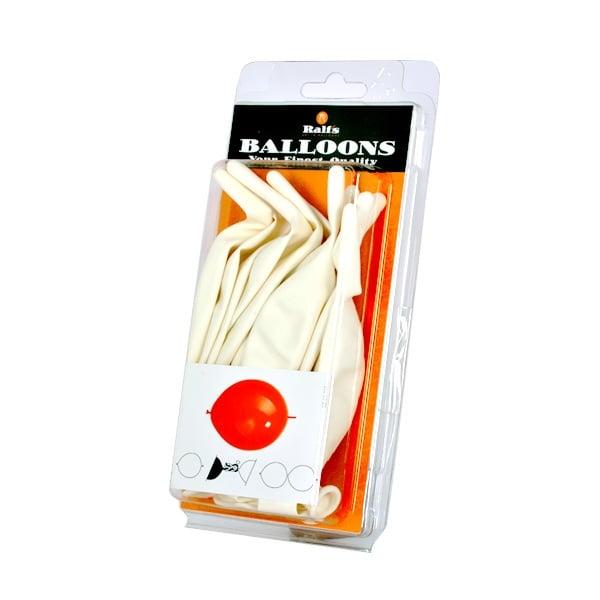 Балони Link-O-Loon, 10 бр. Балони Link-O-Loon, ф 30 cm, 10 бр., бял