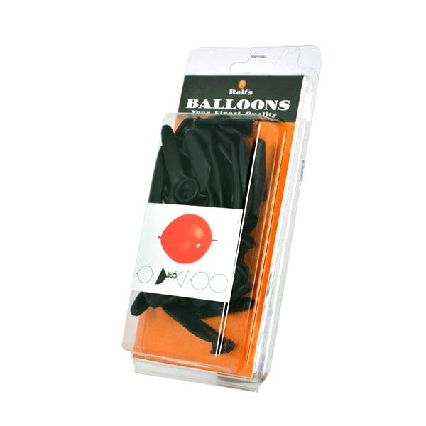 Балони Link-O-Loon, 10 бр. Балони Link-O-Loon, ф 30 cm, 10 бр., черен