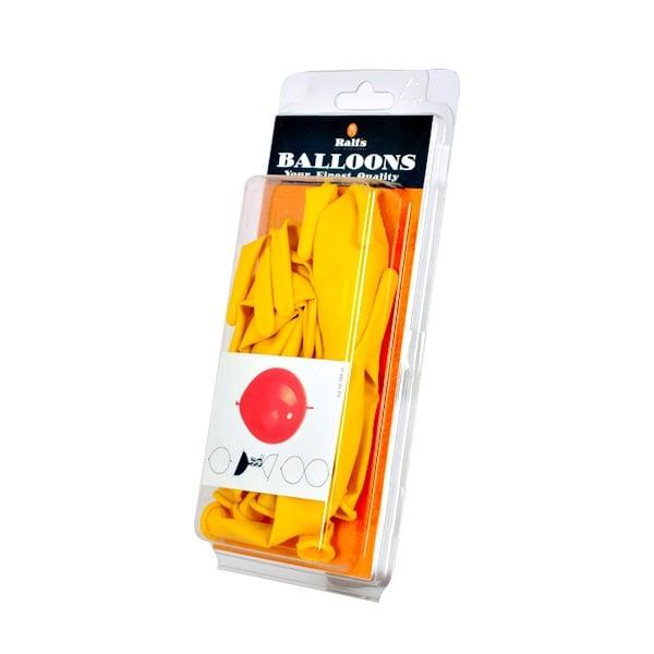 Балони Link-O-Loon, 10 бр. Балони Link-O-Loon, ф 30 cm, 10 бр., жълт